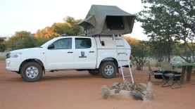 Self-drive Hilux 4x4 ©Tusk Force