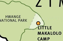 Little Makalolo map ©Wilderness Safaris