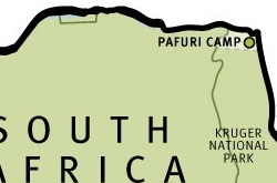 Pafuri Camp map ©Wilderness Safaris