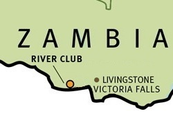 The River Club map ©Wilderness Safaris