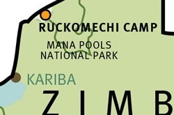 Ruckomechi_map-ZIM ©Wilderness Safaris