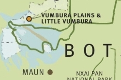 Vumbura map ©Wilderness Safaris